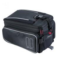 Gepäckträgertasche Basil Sport Design MIK schwarz 7-15 ltr. 36x26x43cm