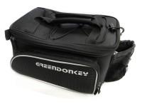 Greendonkey Gepäckträgertasche Gustav 2 (Klettverschluss)