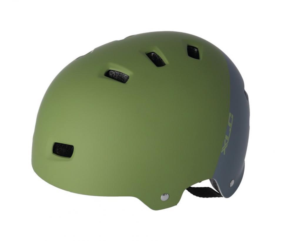 mattschwarz Spikes XLC Fahrrad Helm Urban-Helm BH-C22 Unisize 53-59cm