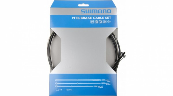 Shimano Bremszugset MTB - Edelstahl