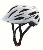 Fahrradhelm Cratoni Pacer (MTB) Gr. S/M (54-58cm) weiß matt