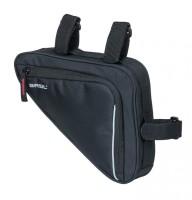 Rahmentasche Basil Sport Design Triangel schwarz, wasserabweisend, 1,7ltr