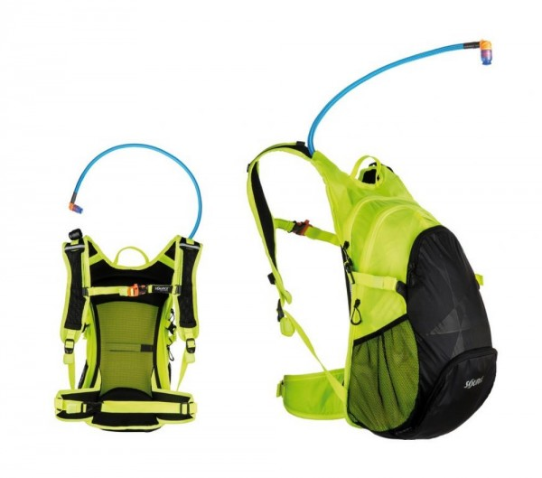 Trinkrucksack Source Air Fuse 3 + 9L inkl. 3L Trinkblase, black/florescent ye
