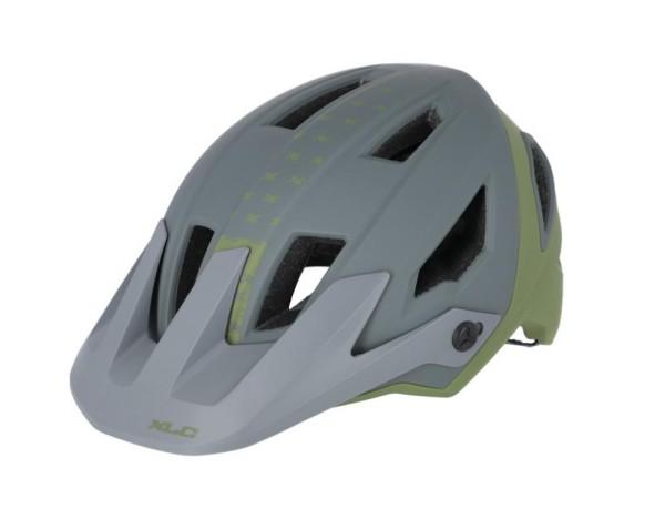 XLC Enduro Helm BH-C31 Gr. 54-58, grün/schwarz