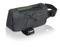 XLC Oberrohrtasche BA-S60 schwarz/anthrazit, 15x4,5x7,5cm, 0,4ltr