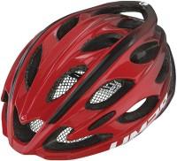 Fahrradhelm Limar Ultralight+ rot/schwarz Gr.M (53-57cm)