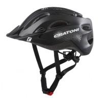 Fahrradhelm Cratoni C-Stream (City) Gr. XXL (59-65cm) schwarz matt