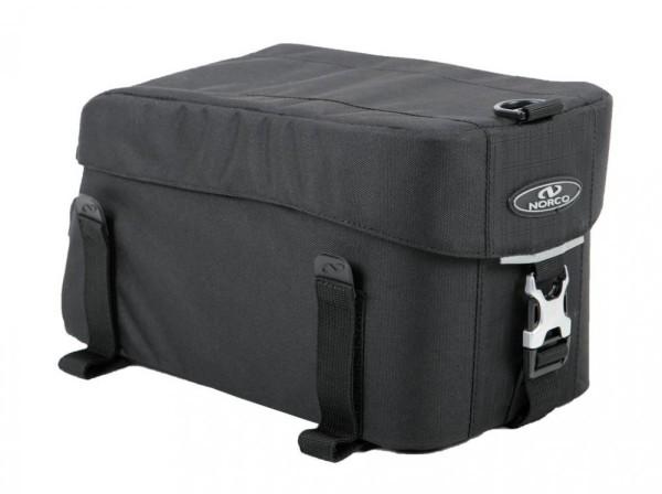Gepäcktr-Tasche NorcoMilton Class. Serie schwarz 31x17x16cm ca.780g 0224CS