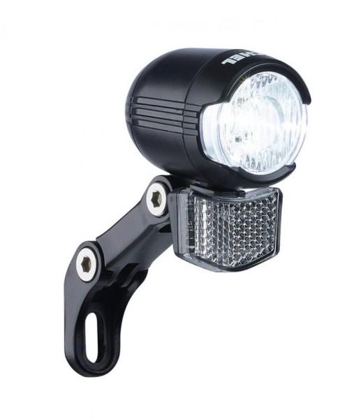 Büchel LED-Scheinwerfer Shiny 40 mit Halter ca.40 Lux E-Bike Version