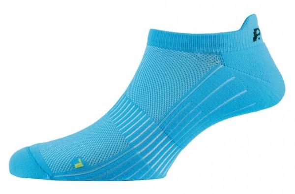 Socken P.A.C. Active Footie Short SP 1.0 women neon blue Gr.35-37