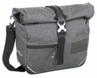 Lenker-Tasche Norco Dunbar tweed-grau,31x24x11cm, ca. 830g 0225UB