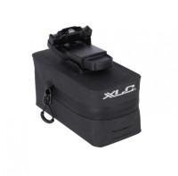 XLC Satteltasche BA-S110 schwarz/anthrazit, Fidlock 'Push'