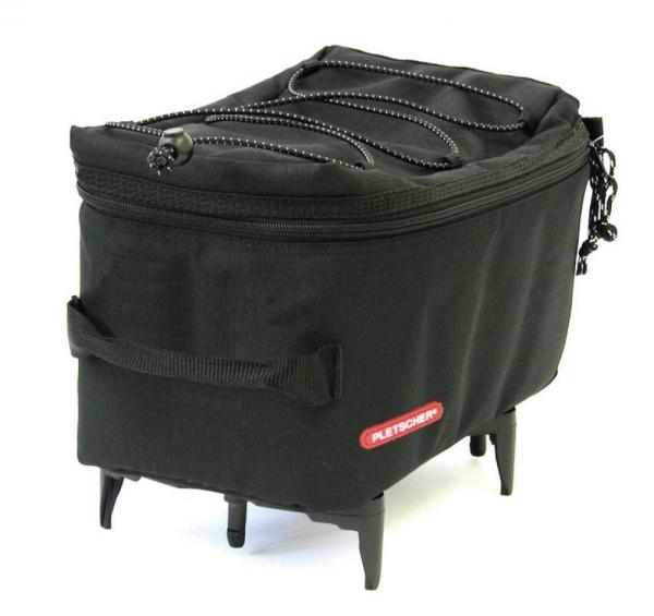Gepäckträgertasche Pletscher Mini schwarz, für System-Gepäckträger