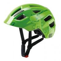 Fahrradhelm Cratoni Maxster (Kid) Gr. S/M (51-56cm) Dino/grün glanz