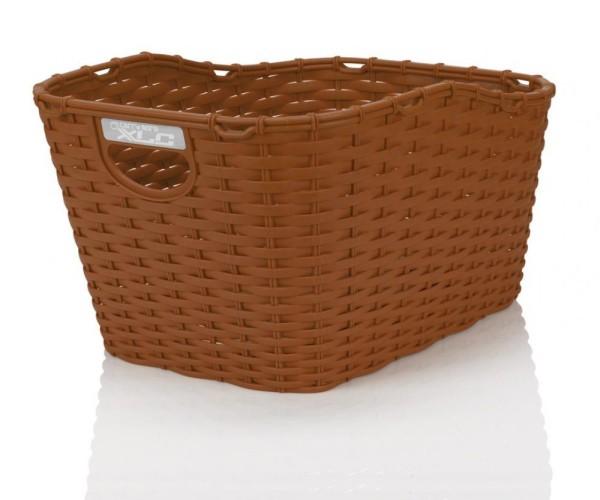 XLC Polyrattan Korb carry more für XLC Systemgepäckträger braun