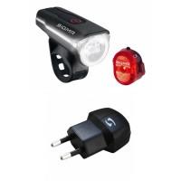 Sigma Beleuchtungsset Aura 60 USB / Nugget II Ladegerät