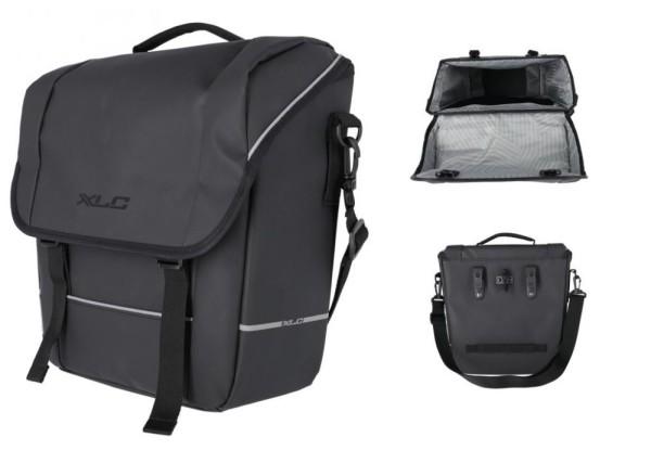 XLC Einzelpacktasche BA-M03 schwarz, ca. 35x30x12cm