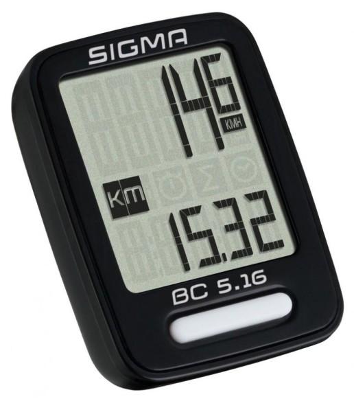 Sigma Fahrradcomputer Topline BC 5.16