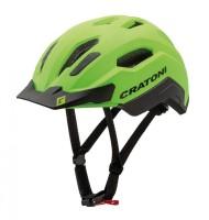 Fahrradhelm Cratoni C-Classic (City) Gr. M/L (54-58cm) neongrün/schwarz matt