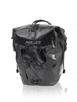 XLC Einzeltaschenset wasserdicht schwarz 21x18x46cm
