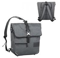 Rucksack-Tasche Norco Portree tweed-grau,38x36x13cm, ca. 1250g 0239UB