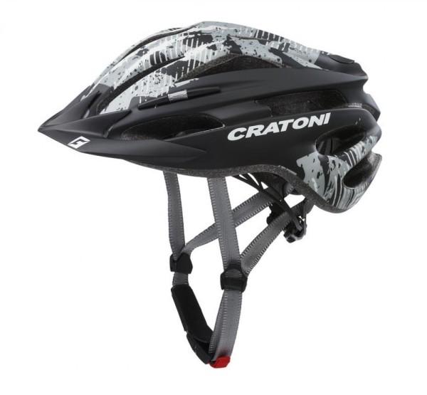 Fahrradhelm Cratoni Pacer (MTB) Gr. XS/S (49-55cm)schwarz/anthrazit matt