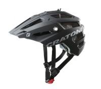 Fahrradhelm Cratoni AllTrack (MTB) Gr. M/L (58-61cm) schwarz gummiert