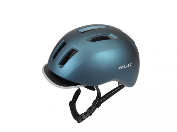 XLC City-Helm BH-C24 53-57cm, metallic blau