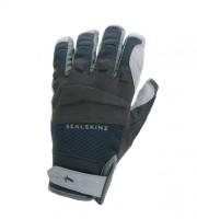 Handschuhe SealSkinz All Weather MTB Gr.L (10) schwarz/grau