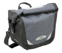 Lenker-Tasche Norco Glenford tweed-grau,29x21x15cm, ca.880g 0226UB