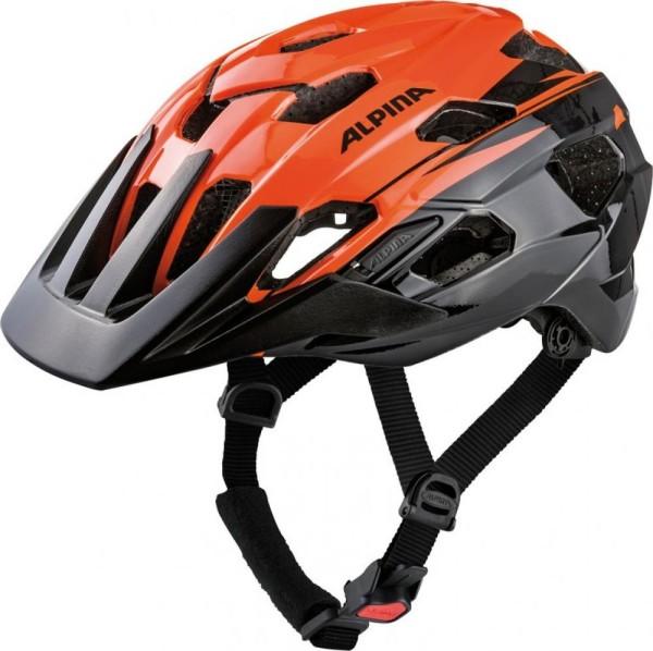 Fahrradhelm Alpina Anzana orange-black Gr.52-57cm
