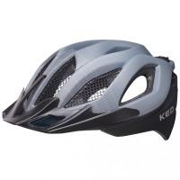 KED Fahrradhelm Spiri II (2020), Grey Black Matt - Größe: L 55-61 cm