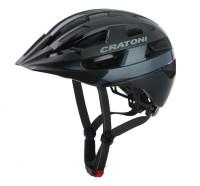 Fahrradhelm Cratoni Velo-X (City) Gr. M/L (56-60cm) schwarz glanz