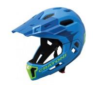 Fahrradhelm Cratoni C-Maniac 2.0MX (MTB) Gr. M/L (54-58cm) blau/lime matt