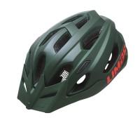 Fahrradhelm Limar Berg-EM matt dunkelgrün, Gr. M (52-57cm)