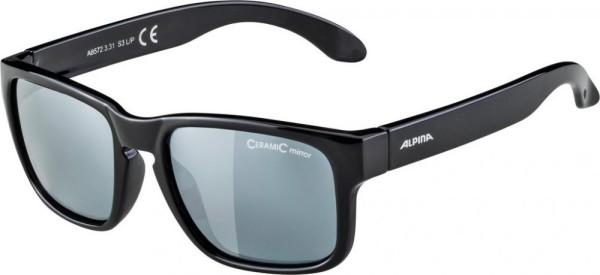 Sonnenbrille Alpina Mitzo Rahmen black Glas black mirror.S3