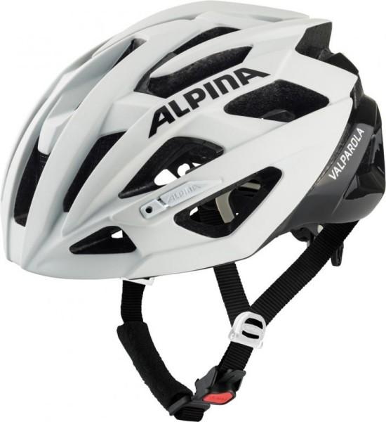 Fahrradhelm Alpina Valparola white-black Gr.51-56cm