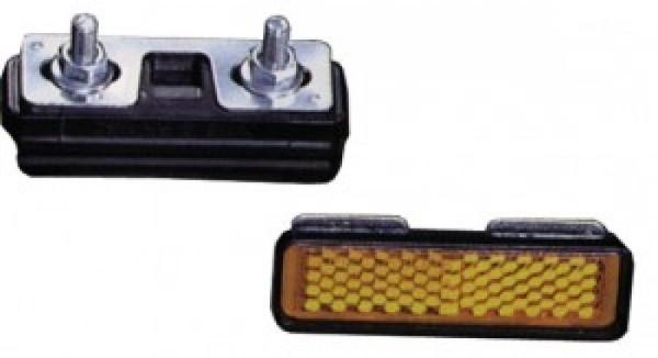 Pedal Reflektoren zum Schrauben 4 Stück
