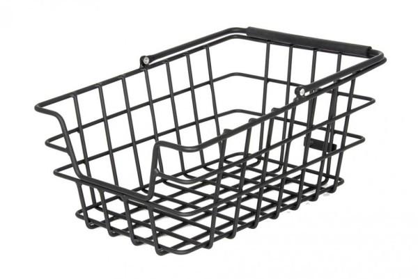 Hinterradkorb Pletscher Alu schwarz, ohne Adapter