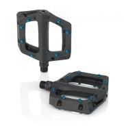 XLC Plattform-Pedal PD-M23 schwarz/blau