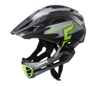 Fahrradhelm Cratoni C-Maniac Pro (MTB) Gr. L/XL (58-61cm) schwarz/lime matt