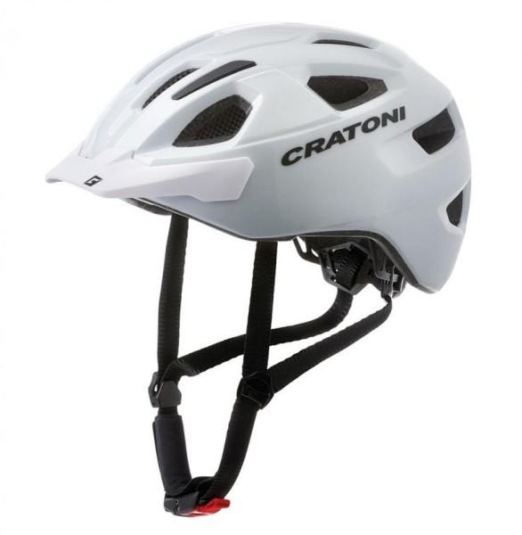 Fahrradhelm Cratoni C-Swift (City) Gr. Uni (53-59cm) weiß glanz