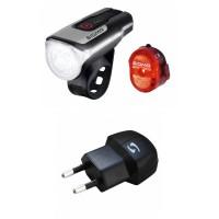 Sigma LED-Akku-Bel.-Set Aura 80 USB inkl Nugget II Ladegerät