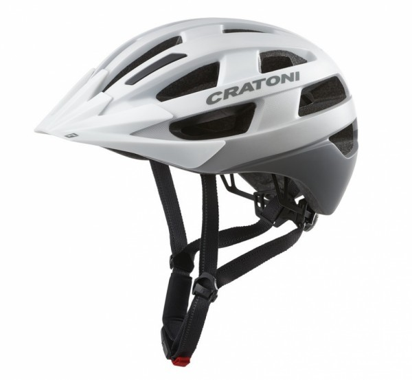 Fahrradhelm Cratoni Velo-X (City) Gr. M/L (56-60cm) weiß matt