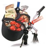 Shopper-Tasche KLICKfix Comfort Mini schwarz, 32x24x23cm, ca. 800g, KLICKfix