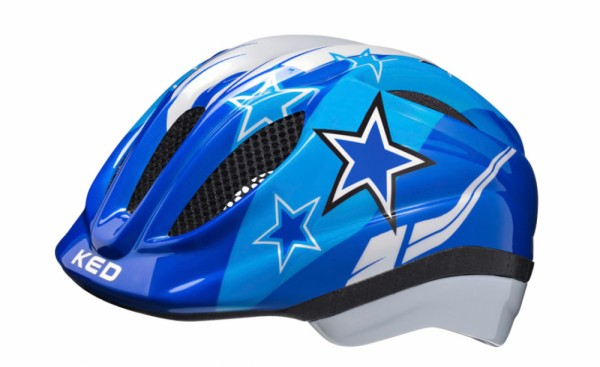 KED Fahrradhelm Meggy II (2020), Blue Stars