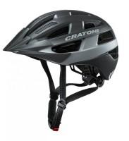 Fahrradhelm Cratoni Velo-X (City) Gr. M/L (56-60cm) schwarz matt