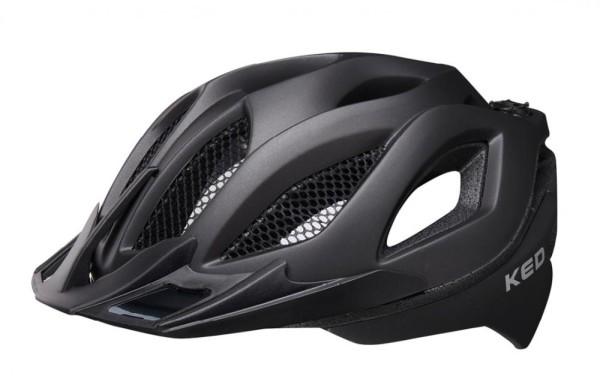 KED Fahrradhelm Spiri II (2021), Black Matt - Größe: M 52-58 cm