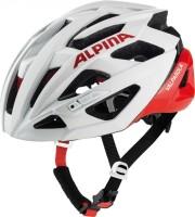 Fahrradhelm Alpina Valparola white-red Gr.51-56cm