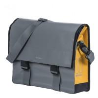 Messengertasche Basil Urban Load 39x11x43cm, grey/gold, 15-17 Ltr